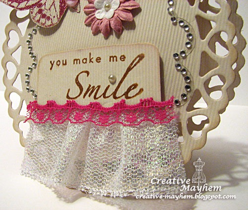 Smile Shape Card for The Rubber Cafe