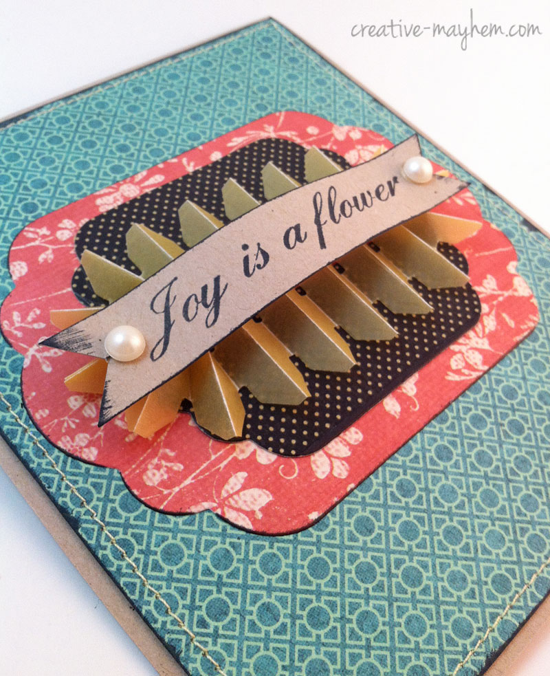 Fence Flower Card